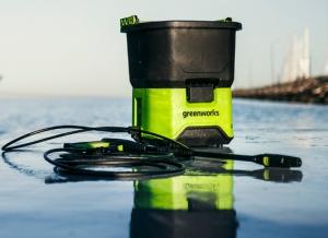 Greenworks Akku-Hochdruckreiniger GDC40  für nur 43,90 Euro