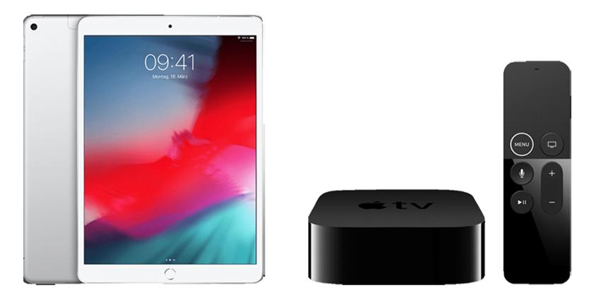Knaller bis 15 Uhr! Apple iPad Air (2019) Cellular 256GB + Apple TV 4K für nur 699,- Euro (statt 953,- Euro)