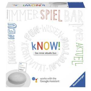 Ravensburger kNOW! + Google Home Mini Gesellschaftsspiel für nur 23,98 Euro inkl. Versand