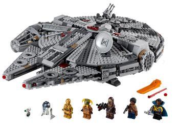 LEGO 75257 Star Wars Millennium Falcon für nur 114,89 Euro inkl. Versand