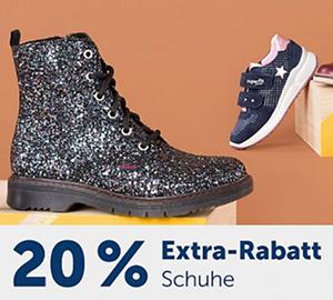 20% Rabatt auf alle Schuhe im myToys Onlineshop
