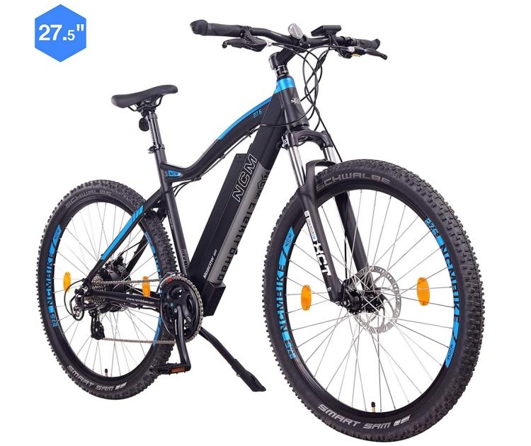 Achtung Scam – nicht bestellen! NCM Moscow E-Bike mit 250 Watt 48V Motor und 13Ah Akku für 555,- Euro