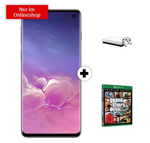 Knaller! MD Telekom green LTE mit 6 GB Daten für mtl. 26,99 Euro + SAMSUNG Galaxy S10 & Microsoft Xbox One X 1TB mit GTA V (Premium Edt.) für einmalig 1,- Euro
