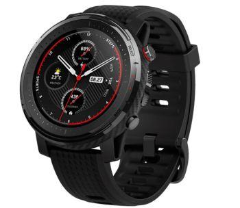 Amazfit Stratos 3 Smartwatch Silikon (195 mm, schwarz) für nur 135,99 Euro inkl. Versand