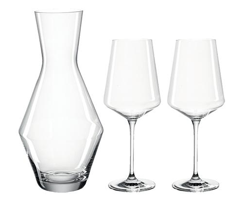 3-teiliges LEONARDO Puccini Wein-Set (2 Gläser & 1 Karaffe) für nur 14,99 Euro inkl. Versand