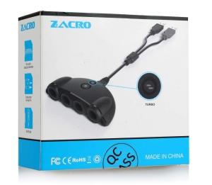 Zacro Gamecube Controller Adapter NGC Controller Adapter für Wii U und PC nur 4,39 Euro