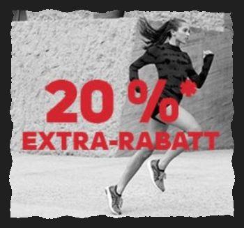 20% Rabatt auf bereits reduzierte Artikel im Adidas Outlet!
