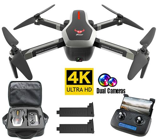 Beast SG906 Drohne mit Full-HD Kamera, 2 Akkus & Tasche für nur 129,99 Euro (statt 200,- Euro)