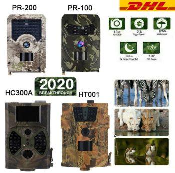 120° Wildkamera (HD, 1080P, 12MP, wasserdicht) für nur 24,99 Euro inkl. Versand