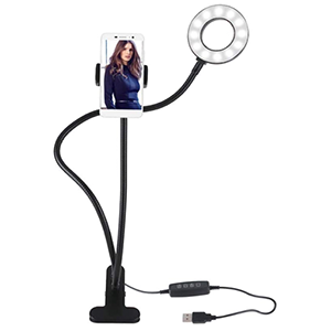 Fesjoy Selfie-Ringlicht mit Smartphone- und Tischhalterung für nur 13,99 Euro