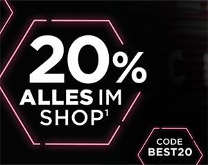 20% Rabatt auf das gesamte Sortiment im Fitmart Onlineshop