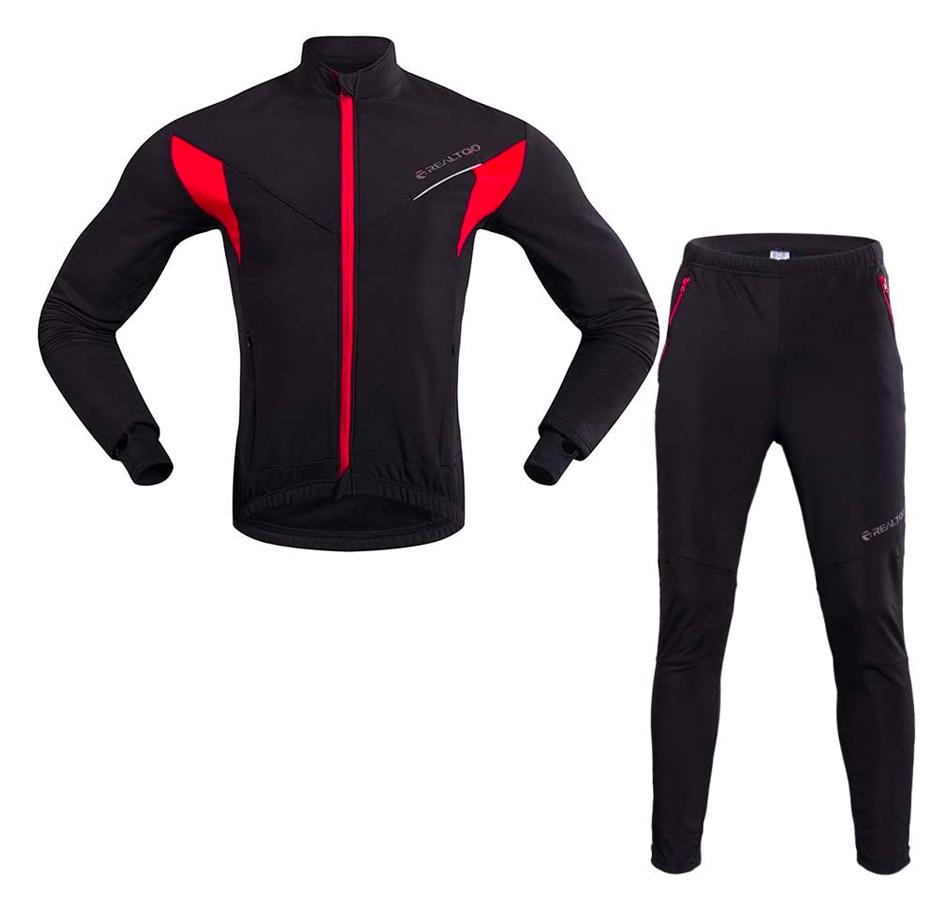 Männer Radsport Bekleidungsset (Hose und Oberteil) für nur 18,99 Euro bei Amazon