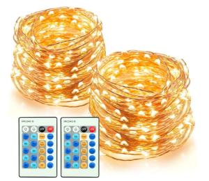 2er Set TaoTronics Lichterkette ( je 20m, Outdoor) für nur 15,99 Euro inkl. Versand