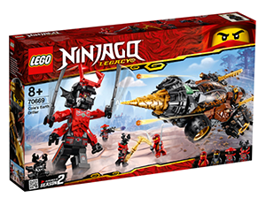 LEGO 70669 Ninjago Coles Powerbohrer für nur 47,98 Euro inkl. Versand (statt 71,- Euro)