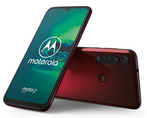 MOTOROLA Moto G8 PLUS (64 GB, Dunkelrot) für nur 179,- Euro inkl. Versand