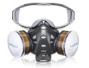 Wieder da: NASUM Gesichtsabdeckung (Brille + Maske) für nur 18,19 Euro (statt 27,- Euro)