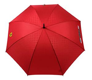 Scuderia Ferrari Stockschirm (Schwarz oder Rot) für nur 19,99 Euro