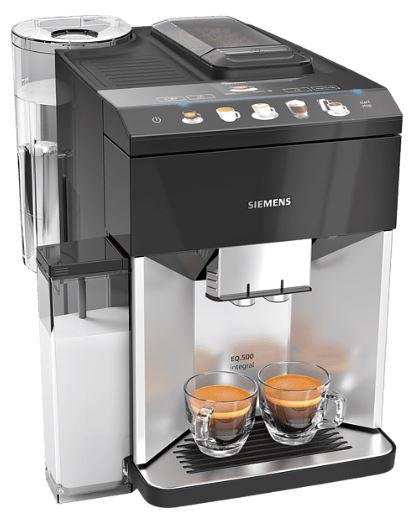 SIEMENS TQ503D01 EQ.500 integral Kaffeevollautomat für nur 499,- Euro inkl. Versand (statt 653,- Euro)