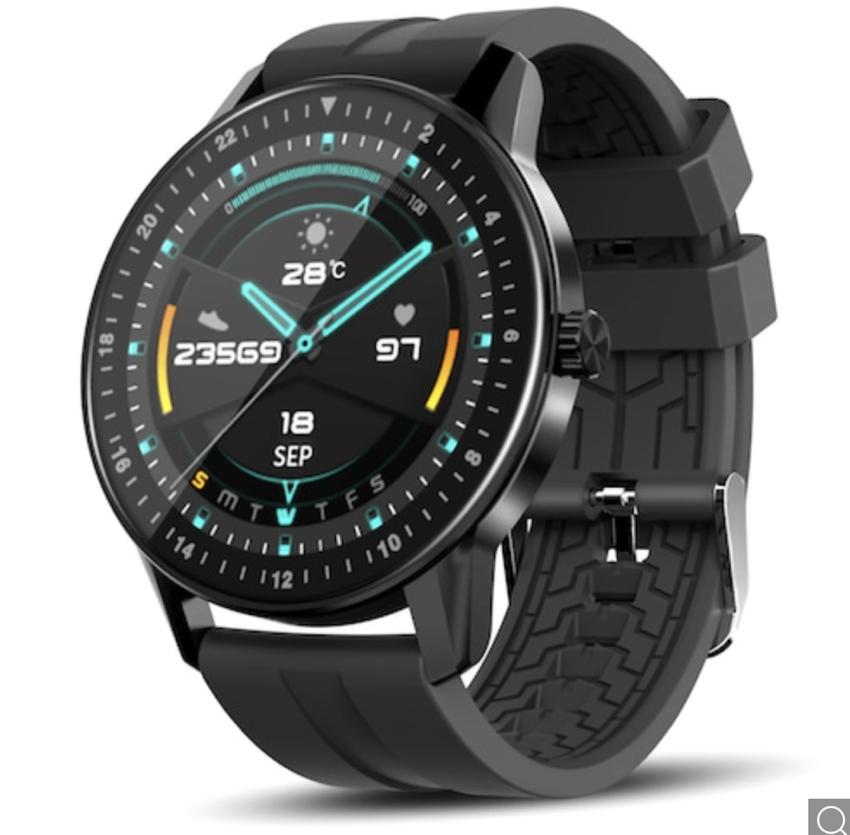 Kospet MAGIC 2 Smartwatch, Display 360 x 360px, wasserfest IP67, 2 Armbänder für 23,95 Euro