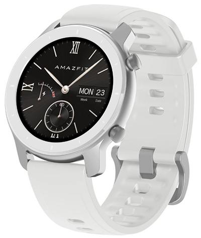 Huami Amazfit GTR 42mm Weiß EU (1,2″ OLED Display, Bluetooth 5.0, 5 ATM) für nur 92,54 Euro inkl. Versand