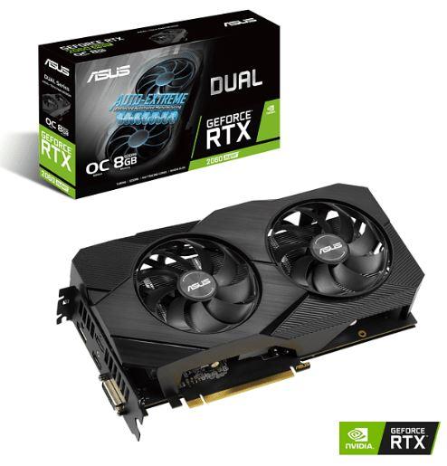 ASUS GeForce RTX 2060 SUPER Dual Evo V2 OC 8GB Grafikkarte für nur 369,45 Euro inkl. Versand