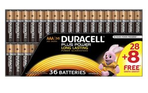 Duracell Plus Power AAA (Micro) Batterien, 36 Stück für nur 16,99 Euro inkl. Versand
