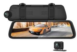 BOSCAM R2 Spiegel Dashcam mit 9,35″ Display und 1080P Rückfahrkamera für 89,99 Euro