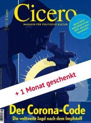3 Monate (3 Ausgaben) der Zeitschrift Cicero kostenlos mit Gutscheincode!