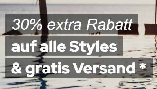 30% Extrarabatt auf Alles bei Dress-for-Less + versandkostenfreie Lieferung