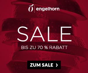 Großer Engelhorn Sale mit bis zu 70% Rabatt auf viele Produkte