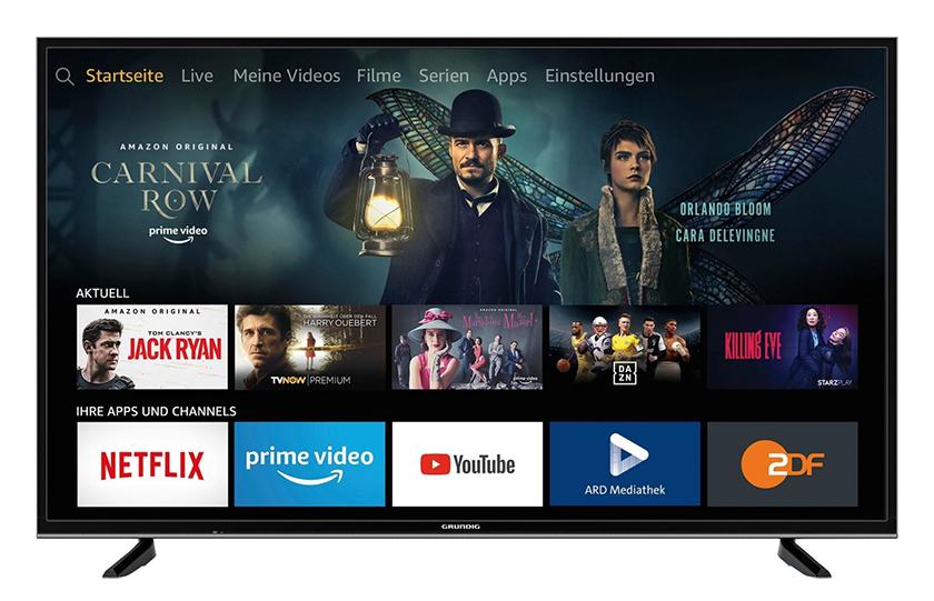 Grundig 43 VLX 7020 43 Zoll 4K Ultra HD Smart-TV für nur 199,- Euro (statt 278,- Euro)