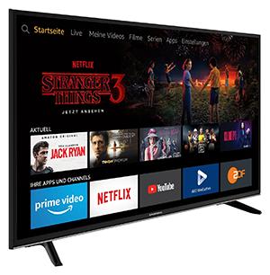49 Zoll Grundig 49 VLX 7020 4K Ultra HD Smart LED TV für nur 229,- Euro (statt 330,- Euro)