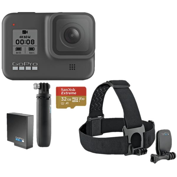 GOPRO HERO8 Black Holiday Bundle Action Cam nur 324,61 Euro für Saturn Card Kunden