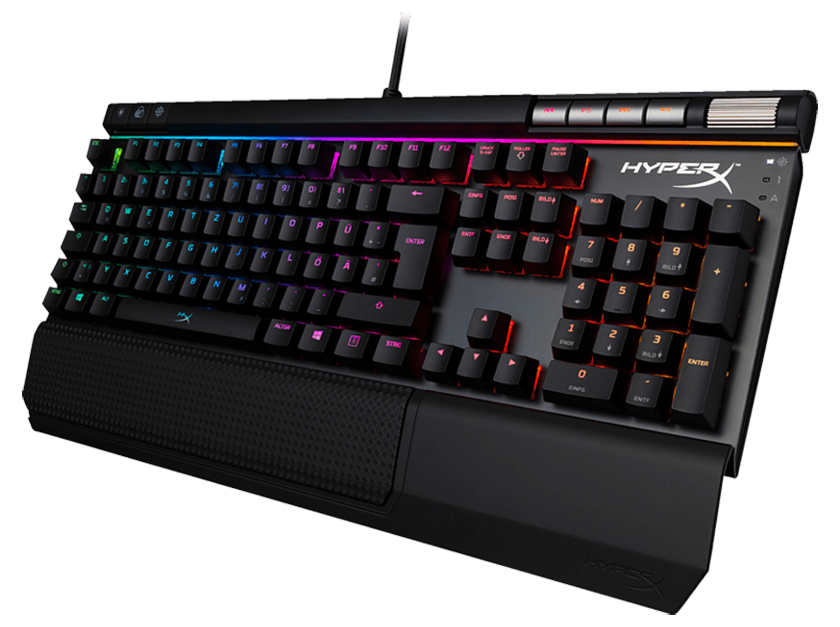 HYPERX Alloy Elite RGB-MX Cherry Gaming-Tastatur für nur 92,61 Euro