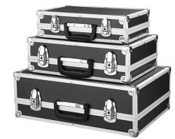 3er Set IKAYAA Werkzeugkoffer mit Aluminiumrahmen für nur 26,94 Euro