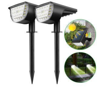 Kingso Solarleuchten (für außen 32 LED) für nur 24,49 Euro inkl. Versand