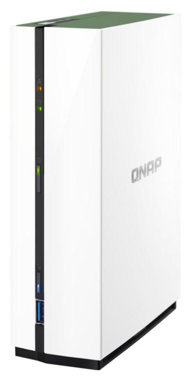 QNAP Systems TS-128A NAS 1-Bay [0/1 HDD, 1x GbE LAN, 1GB RAM] für nur 98,58 Euro inkl. Versand
