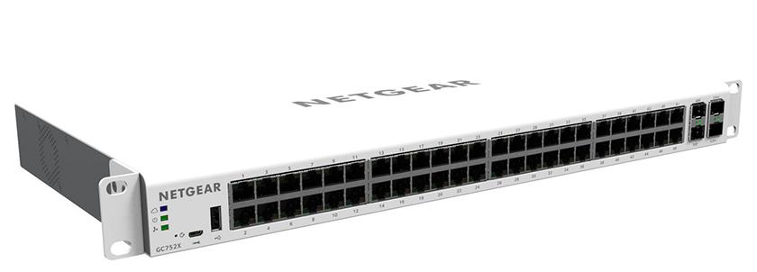 Netgear GC752X Managed 52-Port Gigabit Switch für nur 205,90 Euro (statt 389,- Euro)