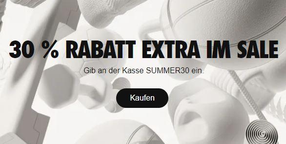 Knaller! Der große Nike Sale mit Rabatten von bis zu 50% + 30% Extra-Rabatt