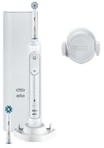 ORAL-B Genius 10100S elektrische Zahnbürste in Weiß oder Lila für nur 96,- Euro inkl. Versand