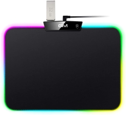 Icetek RGB Gaming Mauspad mit zusätzlichem USB Port für 6,99 Euro