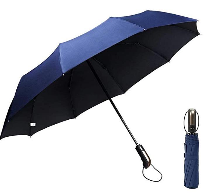 GogoTool Reiseregenschirm in blau nur 9,99 Euro statt 14,99 Euro