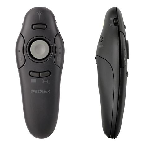 Speedlink Acute Pro Presenter mit Laserpointer für nur 13,99 Euro (statt 20,- Euro)