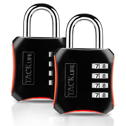 Doppelpack Tacklife HCL3B 4-stellige Vorhängeschlösser für nur 4,99 Euro inkl. Versand