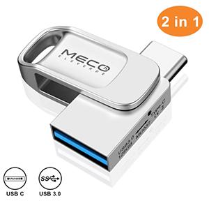 MECO ELEVERDE 128GB USB-C / USB 3.0 Stick für nur 18,55 Euro