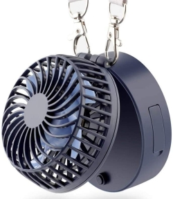 EasyAcc Mini Akku-Ventilator mit Trageriemen und 2.600 mAh Akku für 8,99 Euro