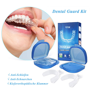 Luckyfine Zahnschiene gegen Zähneknirschen für nur 4,99 Euro bei Amazon