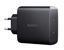 AUKEY PA-Y16 USB C Ladegerät mit 2 USB C Ports und 18W für 12,- Euro