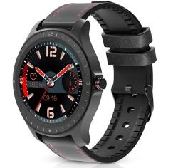 BlitzWolf BW-HL2 Smartwatch mit 1,3-Zoll Display und Pulsmessung für 25,19 Euro