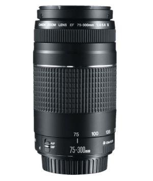Canon EF III 75 mm – 300 mm f/4-5.6 EF Objektiv für nur 96,51 Euro inkl. Versand